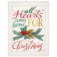 """CIN862-226G """"All Hearts Come Home For Christmas"""""""