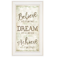 "MOL1151-226G  ""Believe, Dream, Achieve"""