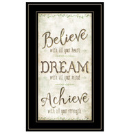 "MOL1151-704G  ""Believe, Dream, Achieve"""