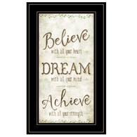 "MOL1151-704G  ""Believe, Dream, Achieve"""