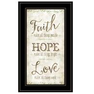 """MOL1118-704G  """"Faith, Hope, Love"""""""
