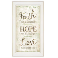 "MOL1118-226G  ""Faith, Hope, Love"""