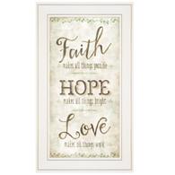 """MOL1118-226G  """"Faith, Hope, Love"""""""