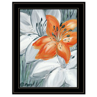 "REAR170-704G ""Tiger Lily in Orange"""