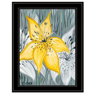 """REAR169-704G """"Tiger Lily in Yellow"""""""