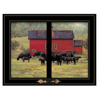 """WCOW219-704G """"By the Red Barn"""""""