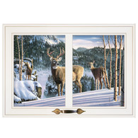 "WNFA138-226G -""Morning View Deer"""