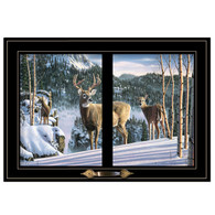 "WNFA138-704G -""Morning View Deer"""