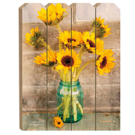 """ANT124PF - """"Country Sunflowers"""""""