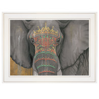 "BHAR461-226G  ""Tattooed Elephant"""