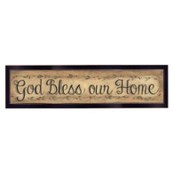 "GE218A-712 ""God Bless Our Home"""