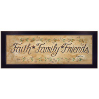 "GE236-712 ""Faith Family Friends"""