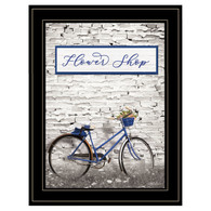 "LD1353-704G ""Flower Shop Bicycle"""