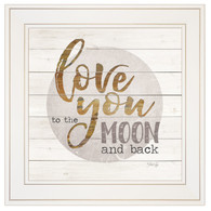 "MA2397-226G ""Love you to the moon and back"""