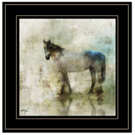 "ROKO121-704G ""Horse Reflection II"""