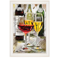 "TDAR318-226G ""Three Wine Glasses"""