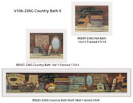 "V106-226G ""Country Bath II"""