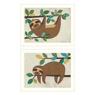 """V491-712W """"Cute Sloths"""""""