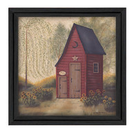 "BR298-405 ""Folk Art Outhouse II"""