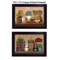 "V411-712  ""Antique Kitchen/Treasures"""