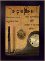 """BJ1004A-712 """"Time is an Illusion"""""""