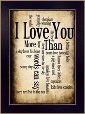"SB179C-712 ""I Love You"""