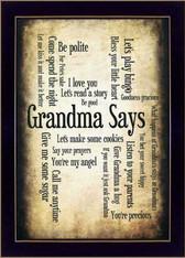 "SB206A-712 ""Grandma Says"""
