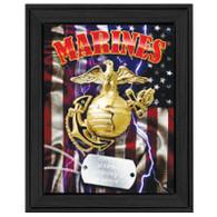 """TNU413 - """"U.S. Marines"""" - 405BLK"""