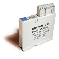 SNAP-AIV-i  (2-CHANNEL ISOLATED -10VDC to +10VDC INPUT MODULE)
