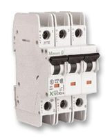 3-Pole 1A C-Curve UL 489 Miniature Circuit Breaker