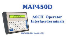 MAP450D (2-Line x 40-Character LCD Display, Numeric Keypad)