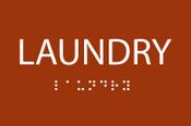 ADA Laundry Sign