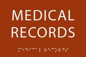 Medical Records ADA Sign