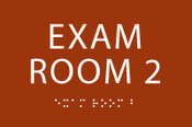 Exam Room 2 ADA Sign