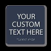 "Custom ADA Sign - 6"" x 6"""