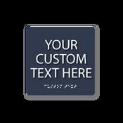 Custom Square ADA Sign