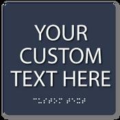 "8"" x 8"" Square Custom Sign"