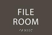 File Room ADA Sign