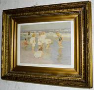 SOLD Period Gold Carved Plaster Frame