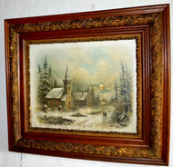 SOLD Oak Victorian Picture Frame with Chandler Print – Church