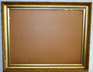 SOLD Extra Large Gold Period Picture Frame