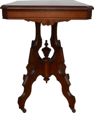 SOLD Walnut Victorian Parlor Stand