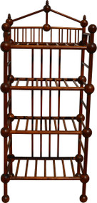 SOLD Unusual Stick and Ball Bookcase / Pie Rack