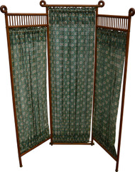 SOLD Stick and Ball Oak Dressing Screen