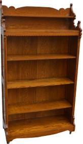 SOLD Oak Eastlake Bookcase
