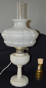 SOLD Lincoln Drape Aladdin Lamp Complete