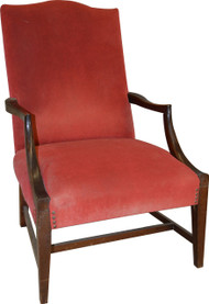 17227 Federal Style Marlboro Arm Chair – Mahogany