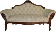 SOLD Victorian Grape Back Carved Sofa – Civil War Era