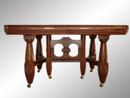SOLD Antique Victorian Mahogany Banquet Table