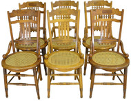 SOLD Set of 6 Victorian Dining Chairs